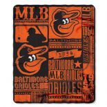 Baltimore Orioles Baseball Established 1954 Fleece Throw Blanket